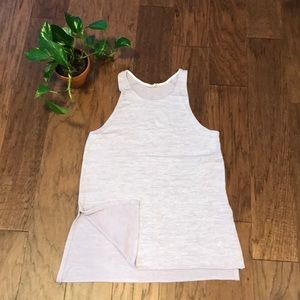 Heathered lilac kit tunic/tank!